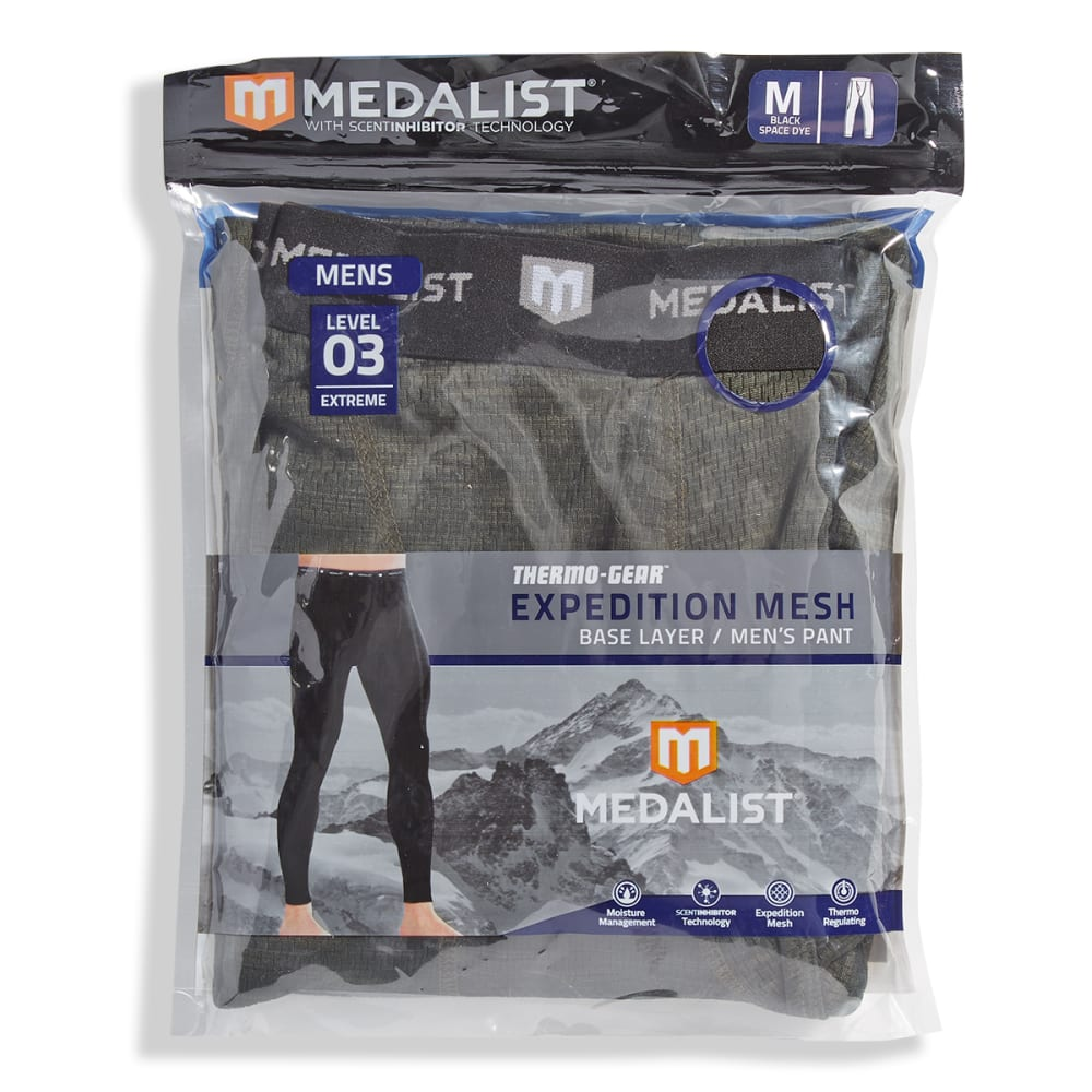MEDALIST Men's Thermo-Gear Level 3 Expedition Mesh Base Layer Pants S