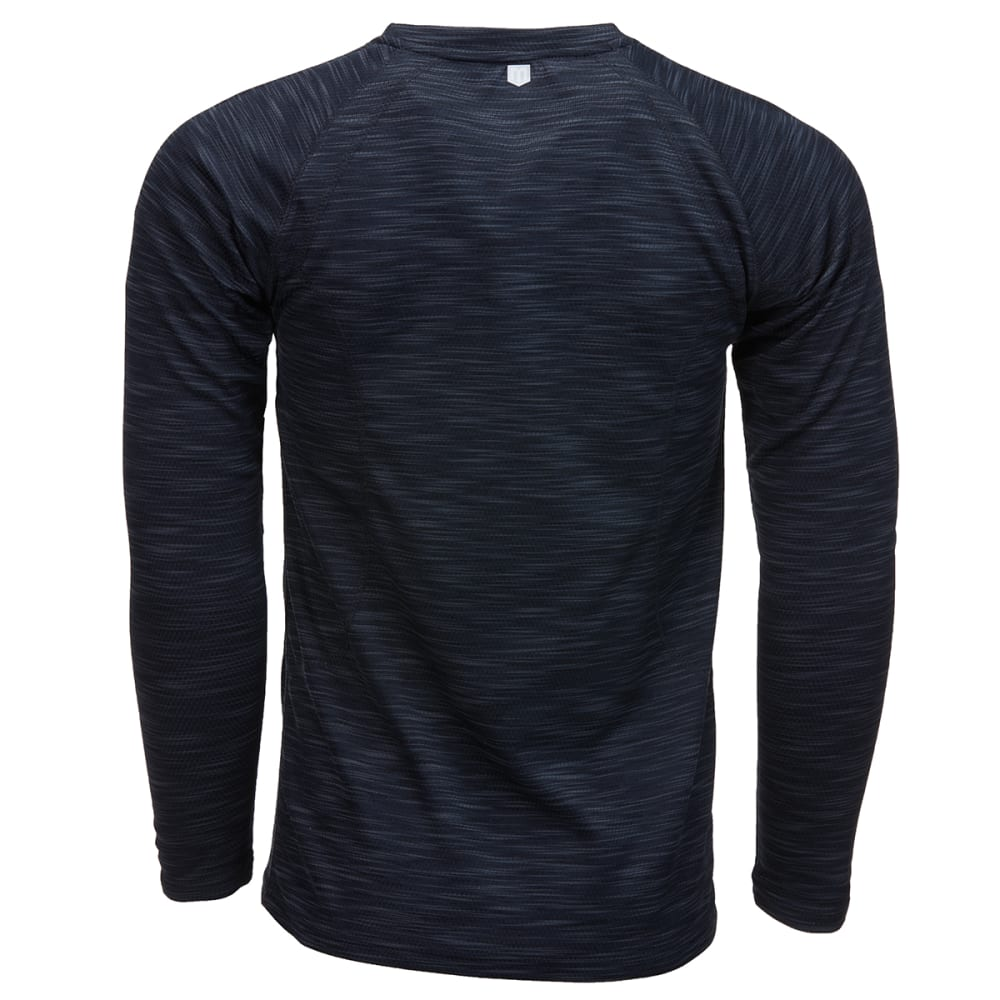 MEDALIST Men's Thermo-Gear Level 3 Expedition Mesh Long-Sleeve Base Layer Top - MEDIUM BLUE