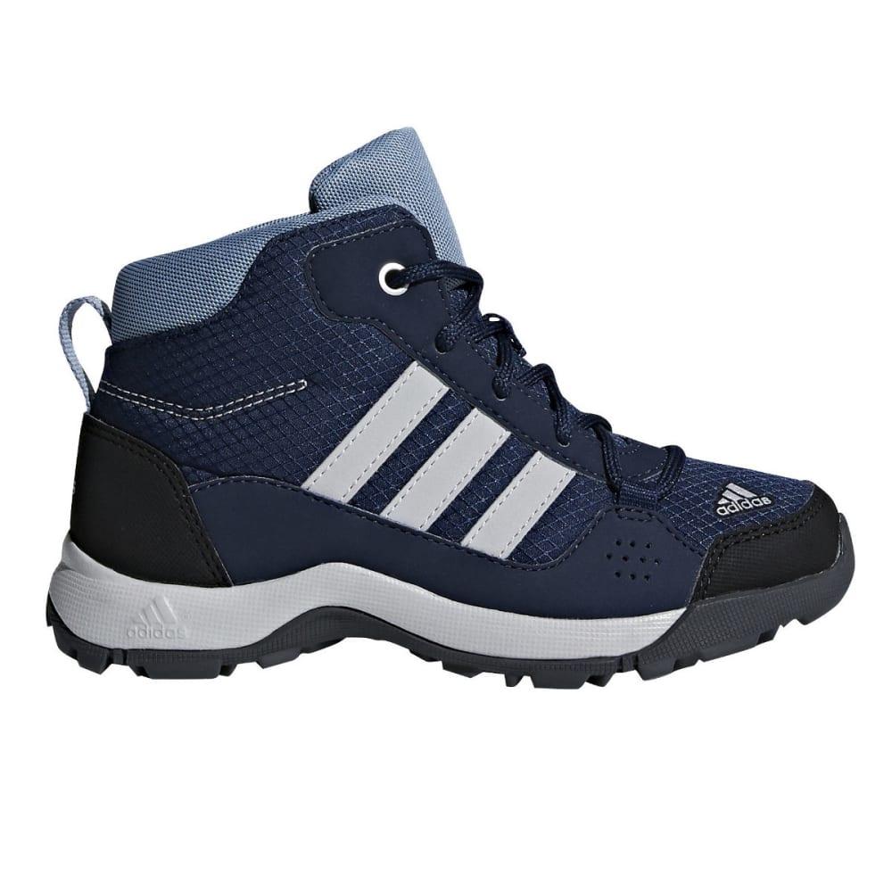 ADIDAS Kid's Hyperhiker K Hiking Boots - NAVY/GREY