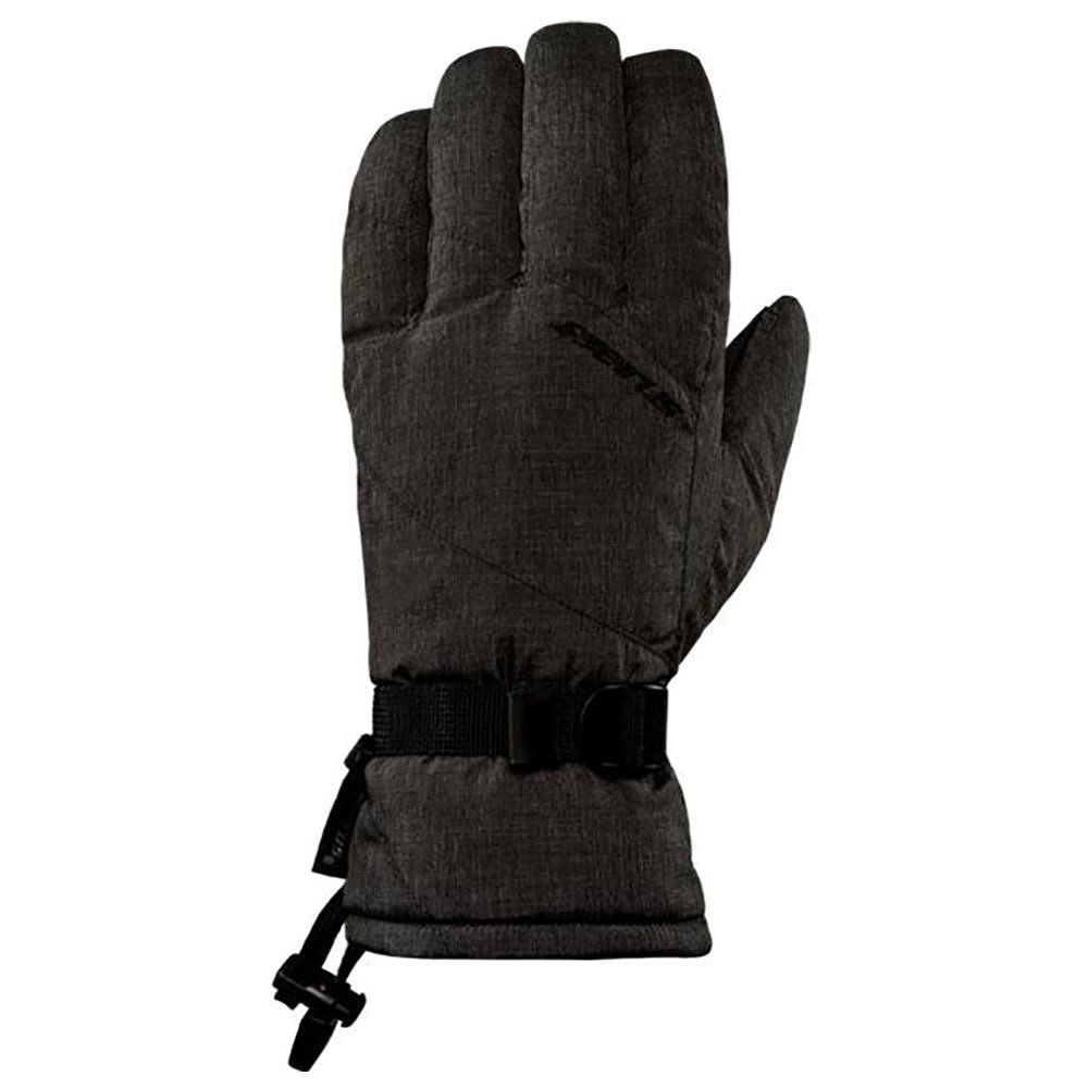 SEIRUS Women's Heatwave Fleck Gloves - BLACK