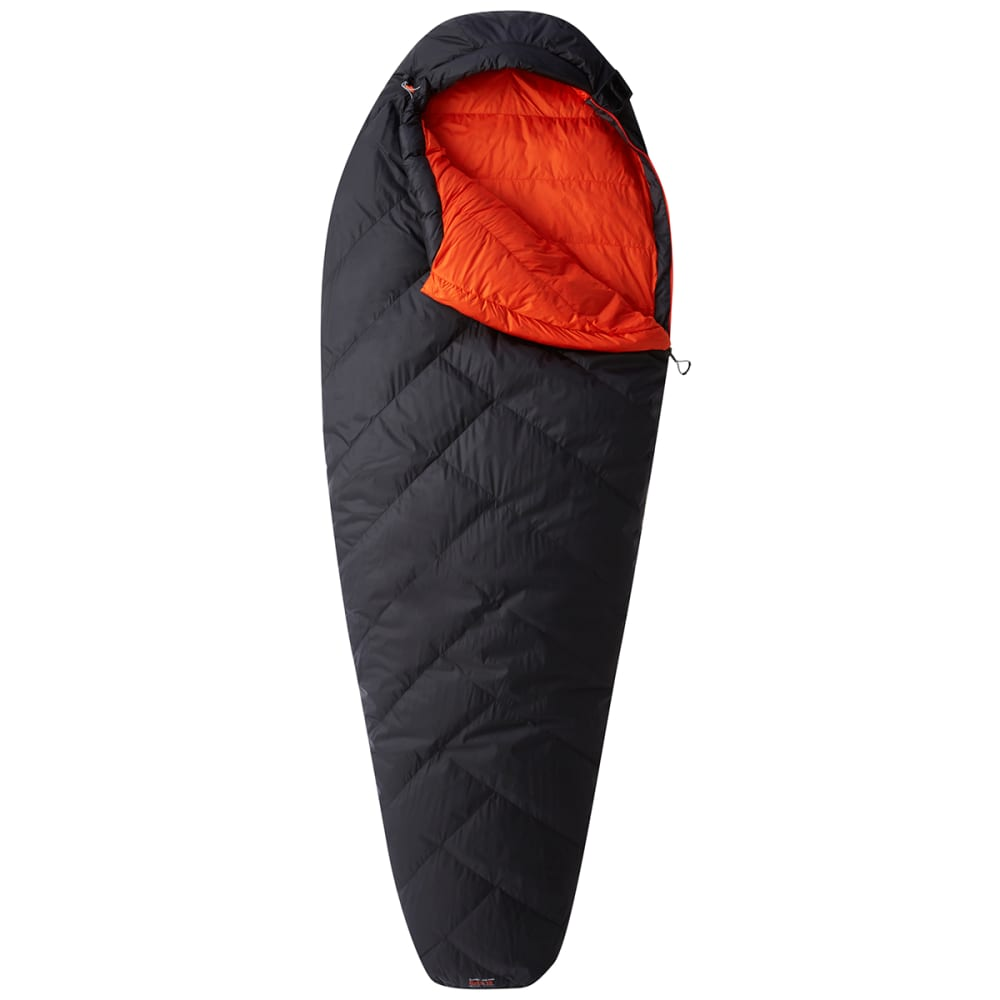 MOUNTAIN HARDWEAR Ratio 15F Down Sleeping Bag, Regular - SHARK