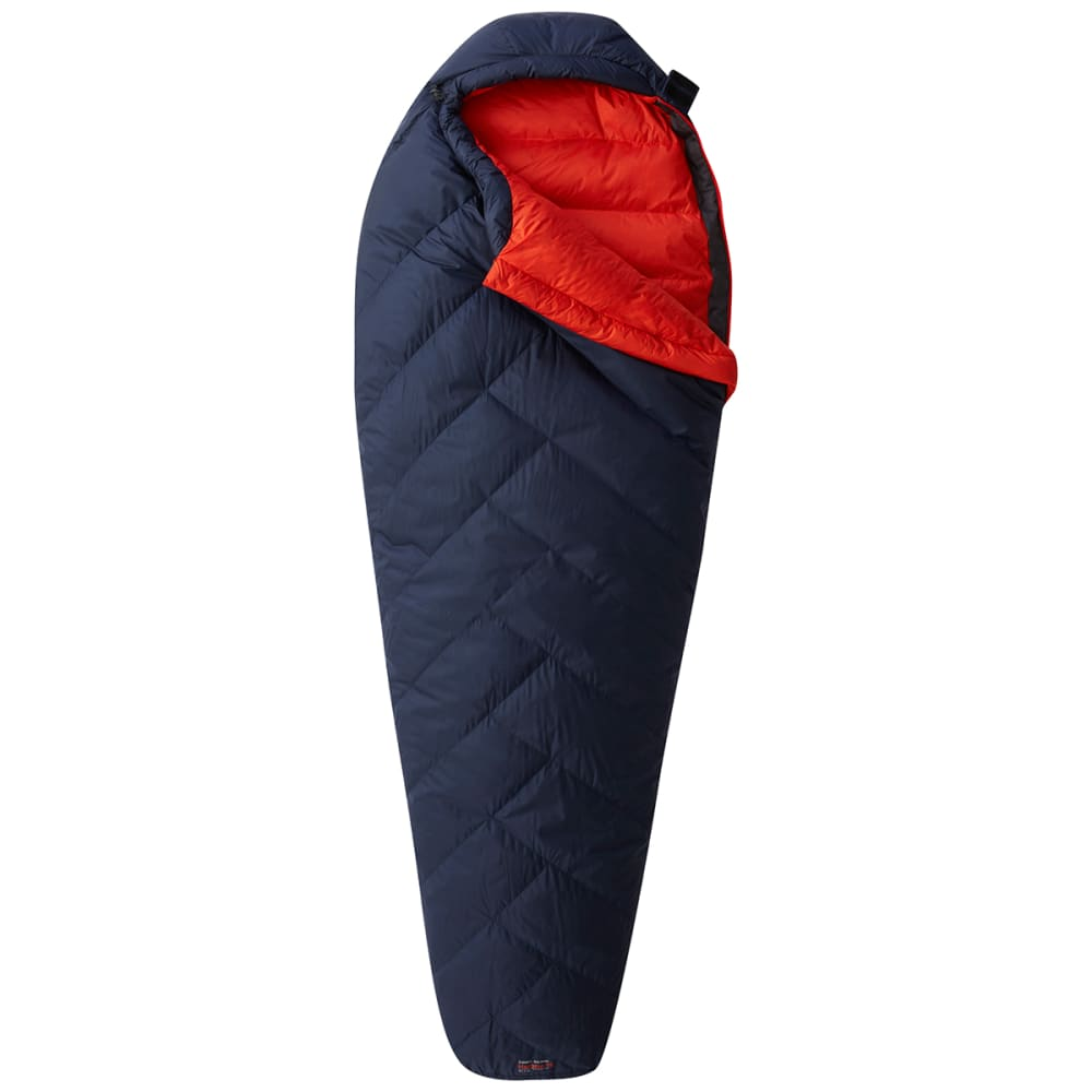 MOUNTAIN HARDWEAR Women's Heratio 15F Down Sleeping Bag, Regular - DARK ZINC