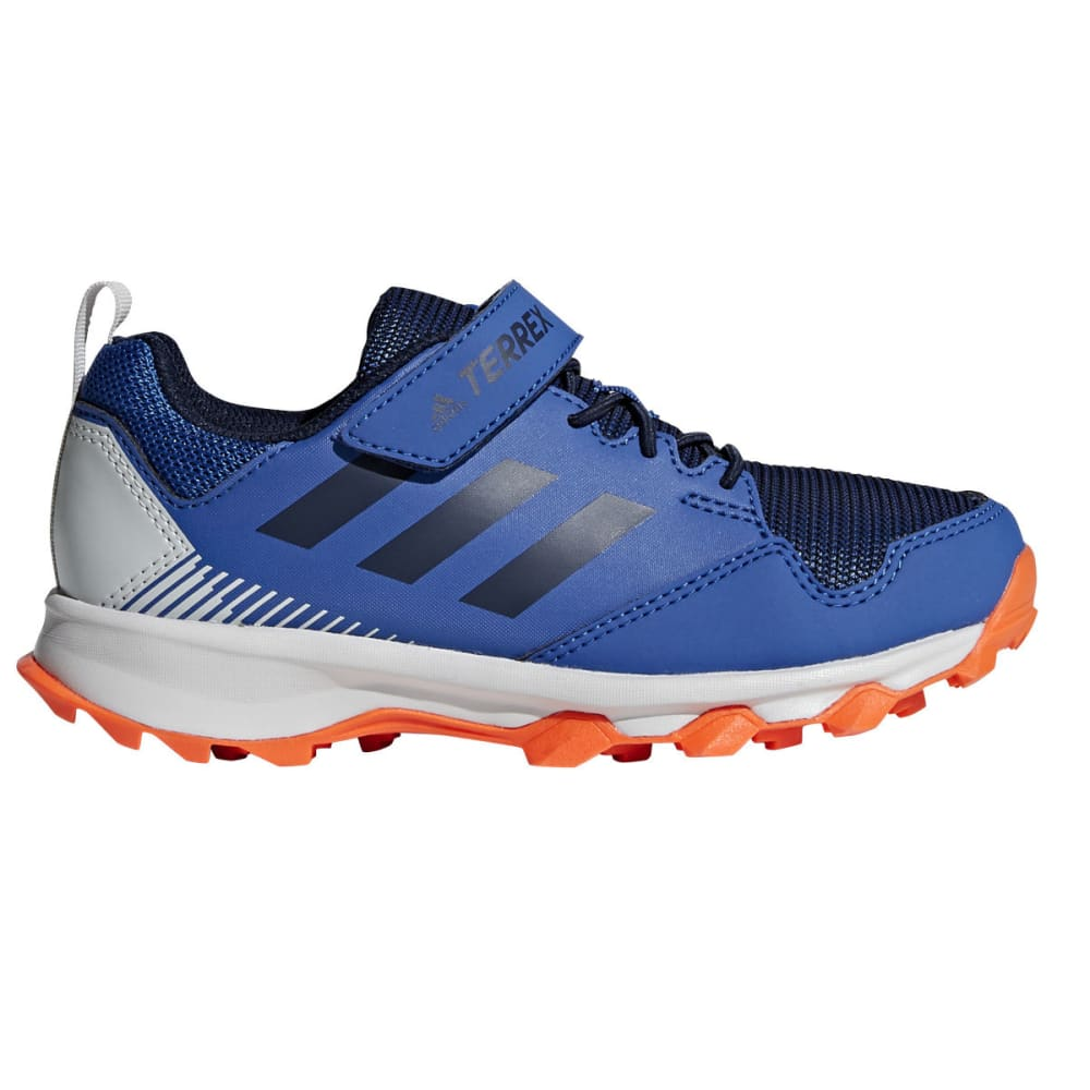 ADIDAS Kids' Terrex Tracerocker CF K Trail Running Shoes - TEAL/NAVY