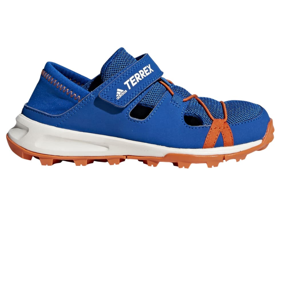 ADIDAS Kid's Terrex Tivid Shandal CF K Water Sports Shoe's - BLUE/ORANGE/WHITE
