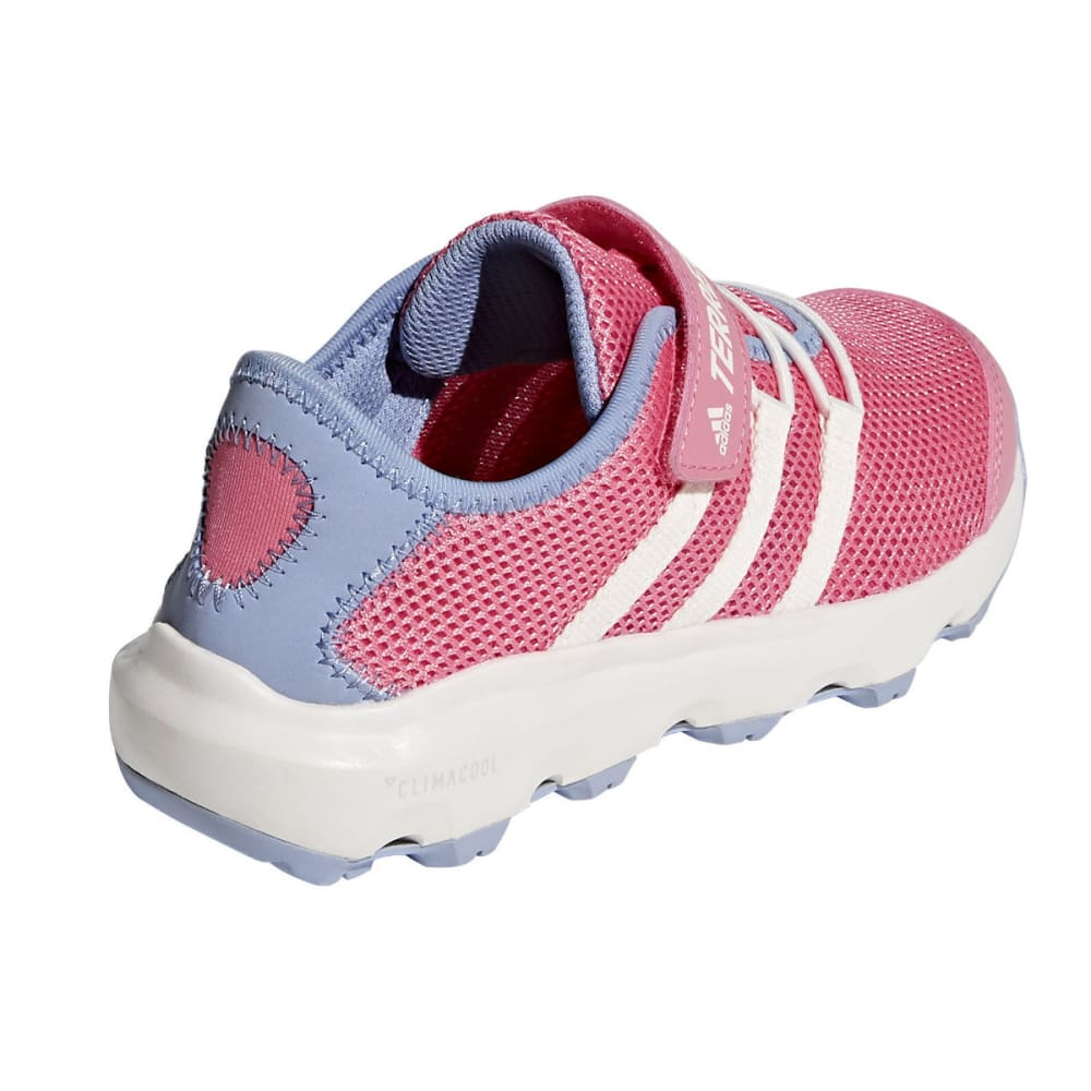 ADIDAS Kid's Terrex CC Voyager CF K Water Sports Shoes - PINK/WHITE/PURPLE
