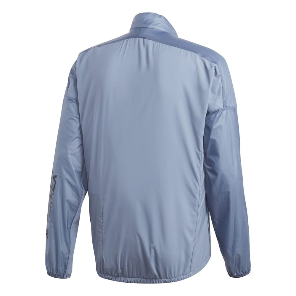 ADIDAS Men's Agravic Alpha Shield Jacket - RAW STEEL