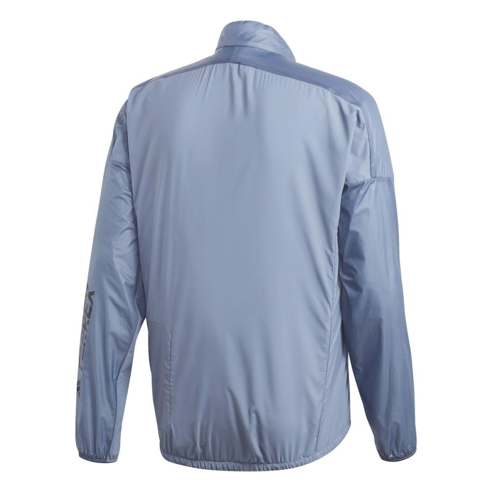 ADIDAS Men's Agravic Alpha Shield Jacket - RAW STEEL