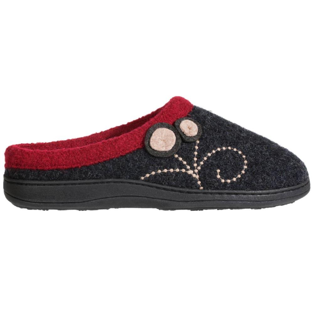 Acorn Womens Dara Slippers Black Size M