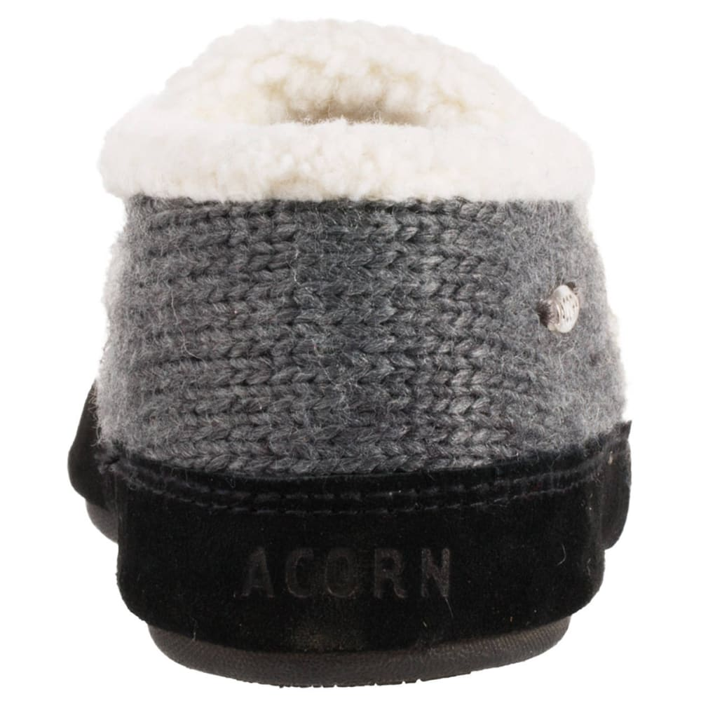 ACORN Women's Nordic Moc Slippers - CHARCOAL-CBB