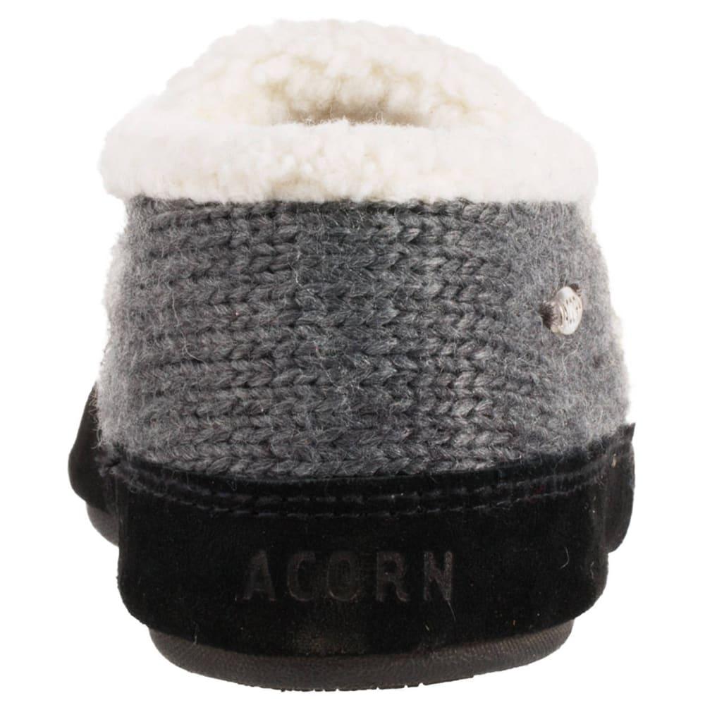 ACORN Women's Nordic Moc Slippers - CHARCOAL-CBB