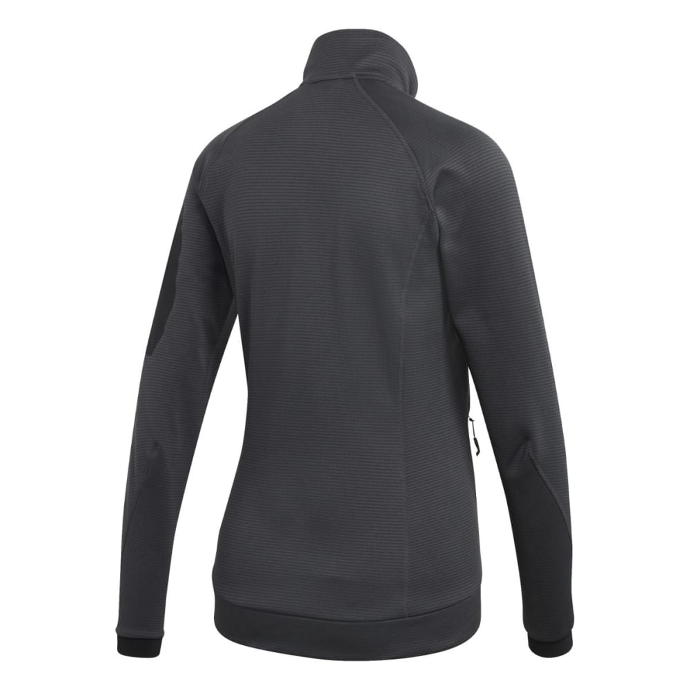 ADIDAS Women's W Terrex Stockhorn Fleece - CARBON