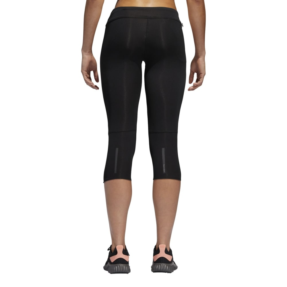 ADIDAS Women's Response 3/4 Tights - BLACK