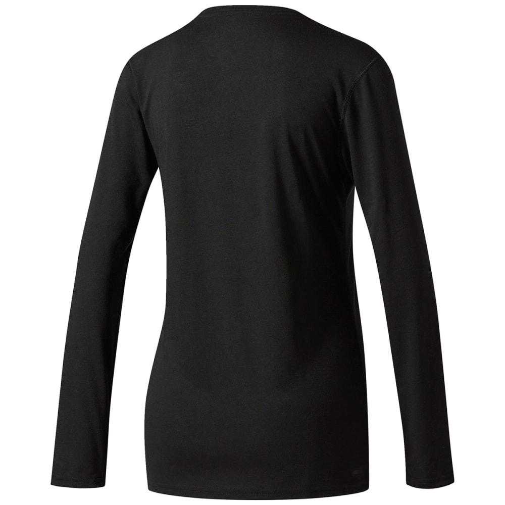 ADIDAS Women's Ultimate Long-Sleeve Shirt - BLACK