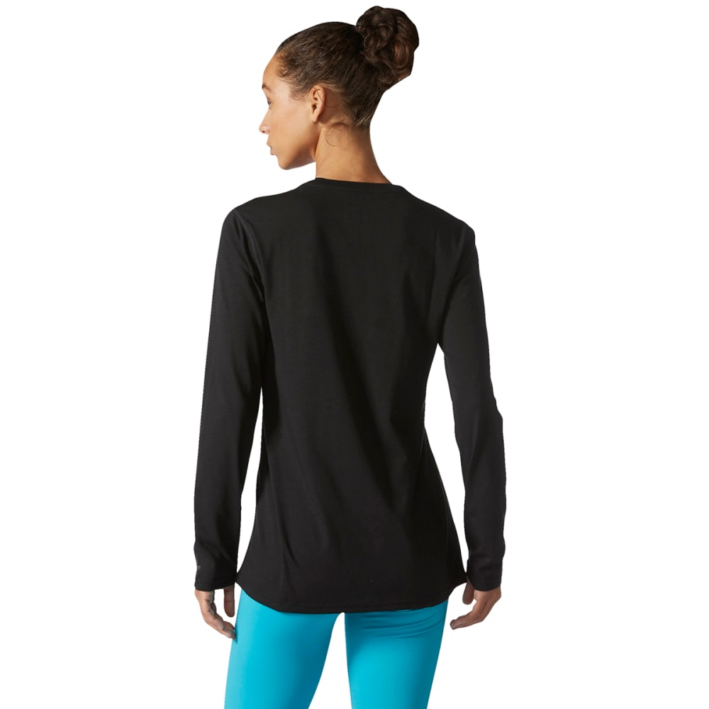 ADIDAS Women's Ultimate Long-Sleeve Shirt - BLACK