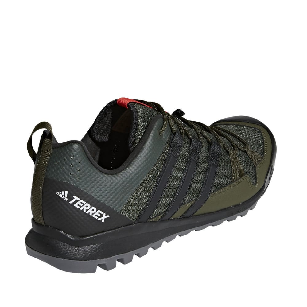 ADIDAS Men's Terrex Solo Approach Shoes - NIGHT CARGO/BLACK