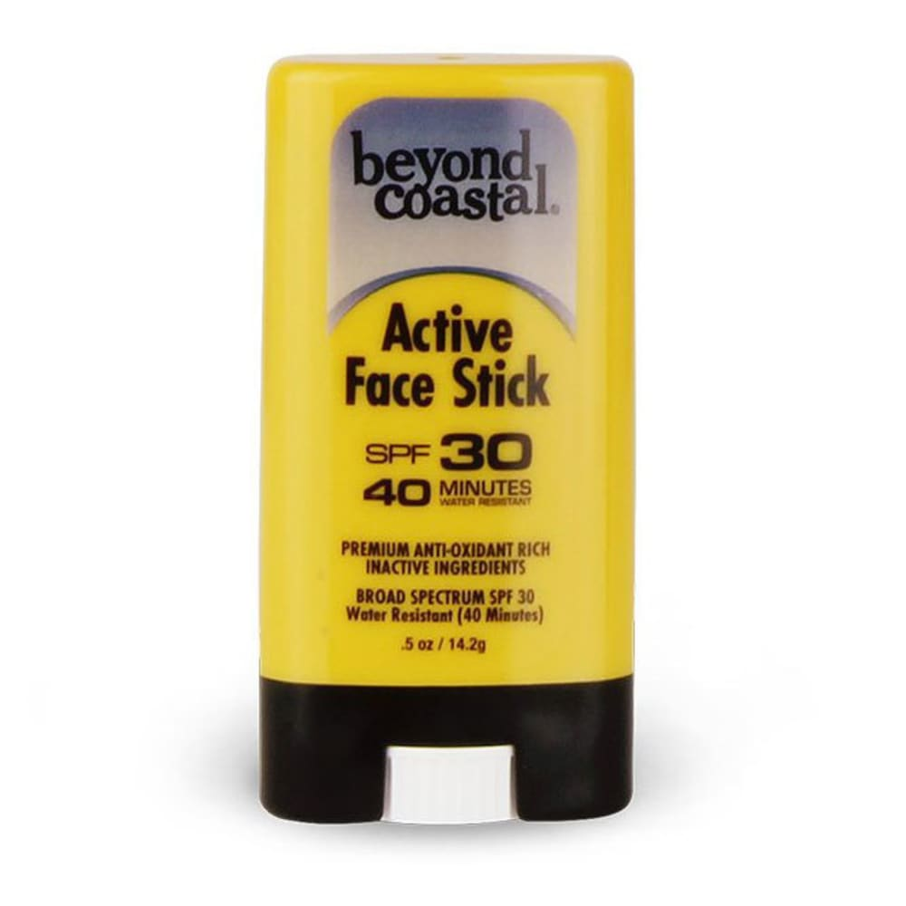 BEYOND COASTAL 0.5 oz. SPF 30 Active Face Stick Sunscreen - NO COLOR