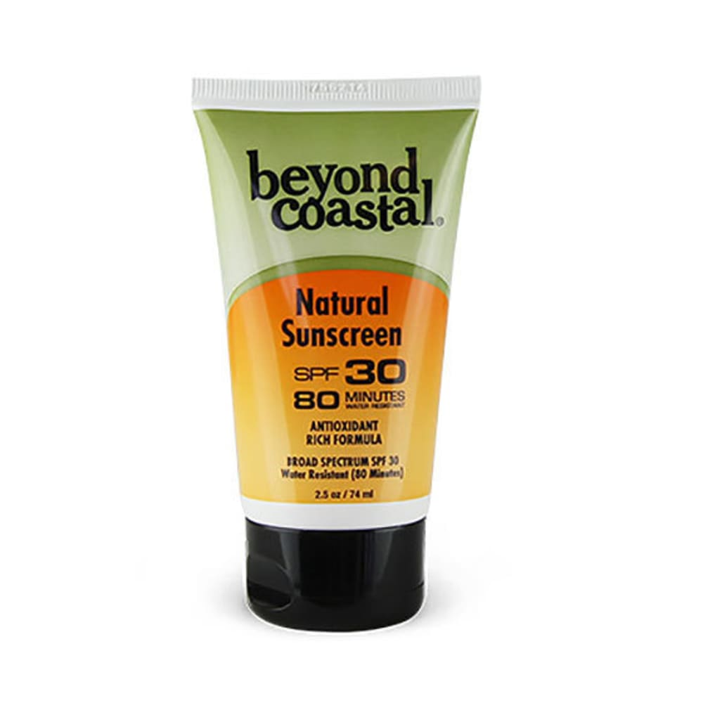 BEYOND COASTAL 2.5 oz. SPF 30 Natural Sunscreen - NO COLOR