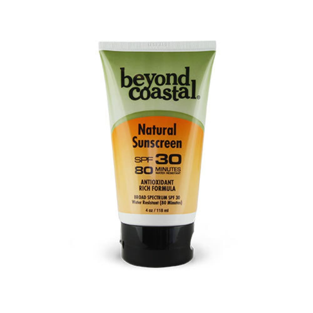 BEYOND COASTAL 4.0 oz. SPF 30 Natural Sunscreen - NO COLOR