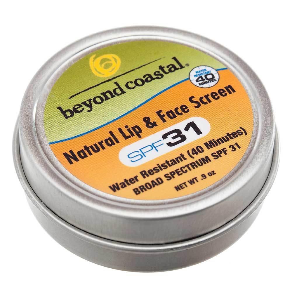 BEYOND COASTAL 0.9 oz. SPF 31 Natural Lip & Face Sunscreen - NO COLOR