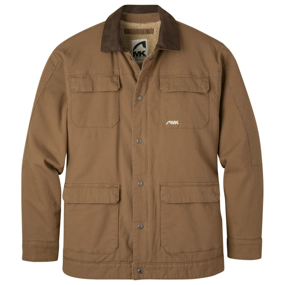 MOUNTAIN KHAKIS Men's Ranch Shearling Jacket - TOBACCO-441