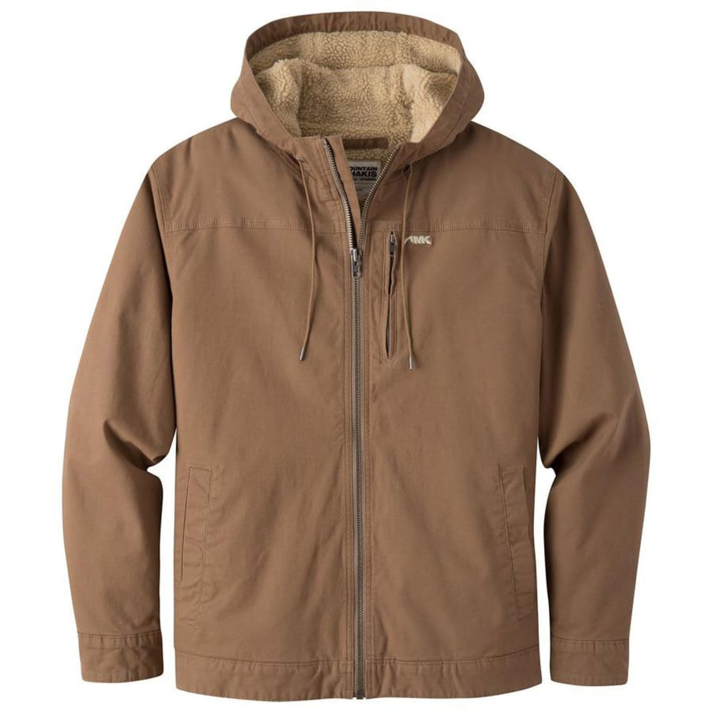 MOUNTAIN KHAKIS Men's Ranch Shearling Hoody - TOBACCO-441