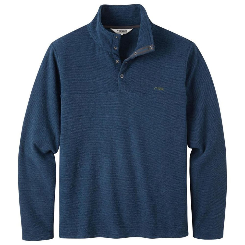 MOUNTAIN KHAKIS Men's Pop Top Pullover - TWILIGHT-676