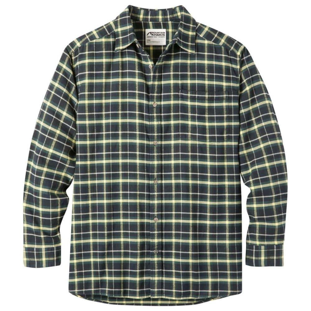 MOUNTAIN KHAKIS Men's Peden Long-Sleeve Flannel Shirt S