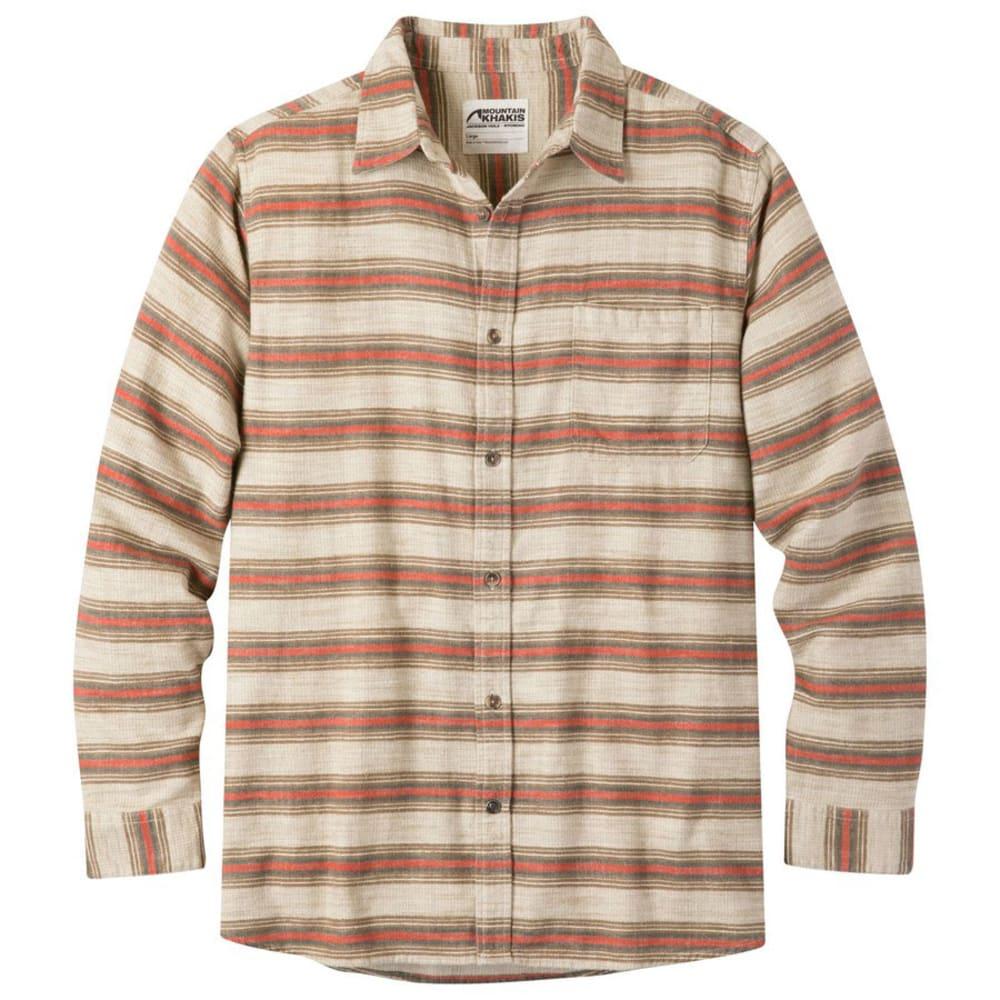 MOUNTAIN KHAKIS Men's Lundy Long-Sleeve Flannel Shirt - CREAM-383