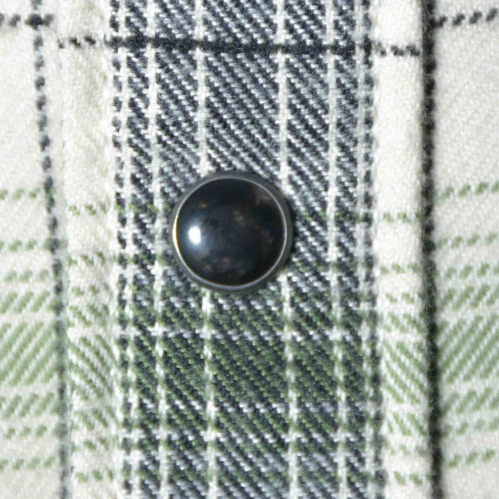 MOUNTAIN KHAKIS Men's Saloon Long-Sleeve Flannel Shirt - CREAM PLAID-644
