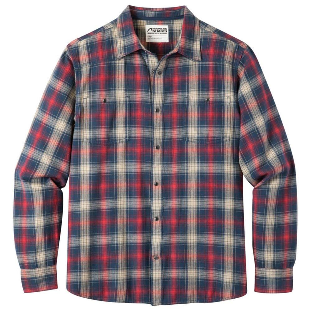 MOUNTAIN KHAKIS Men's Saloon Long-Sleeve Flannel Shirt - TWILIGHT PLAID-679