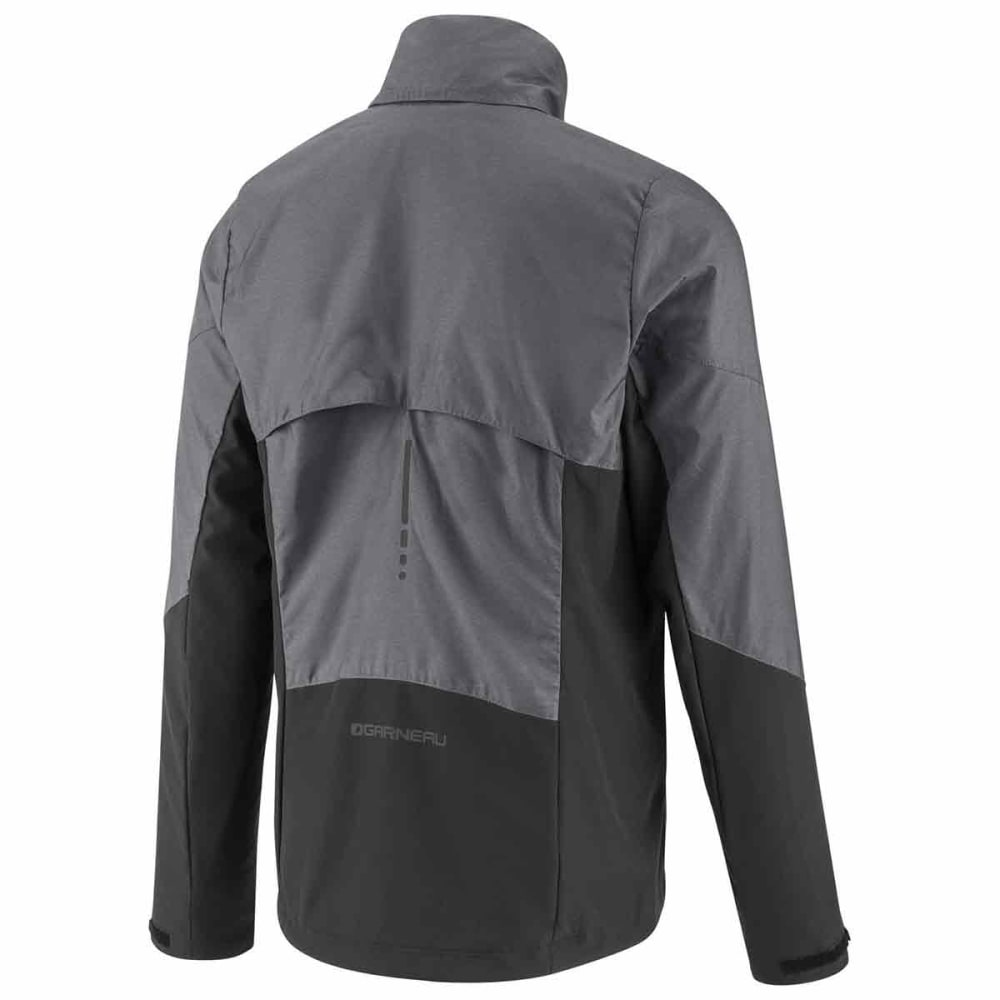 LOUIS GARNEAU Men's Mondavi Cycling Jacket - GREY HEATHER
