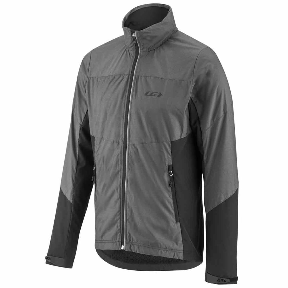 LOUIS GARNEAU Men's Mondavi Cycling Jacket - GREY HEATHER