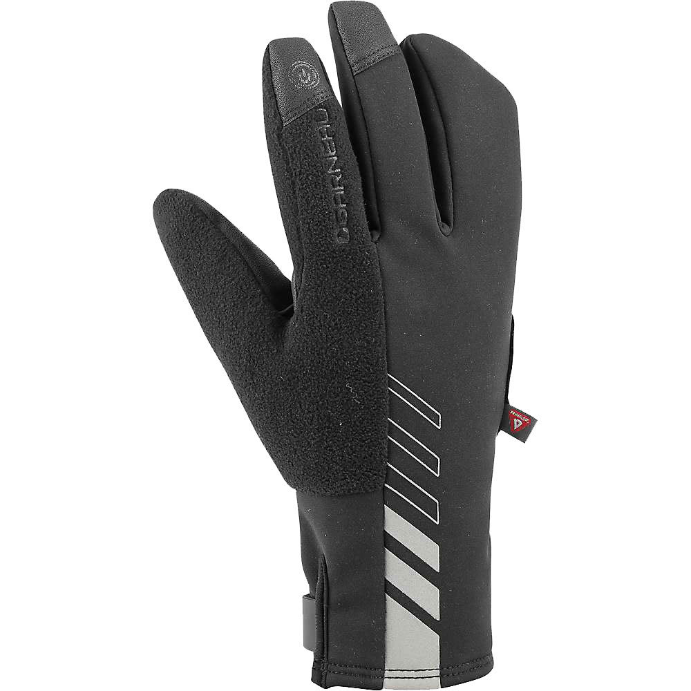 LOUIS GARNEAU Men's Shield+ Cycling Gloves - BLACK