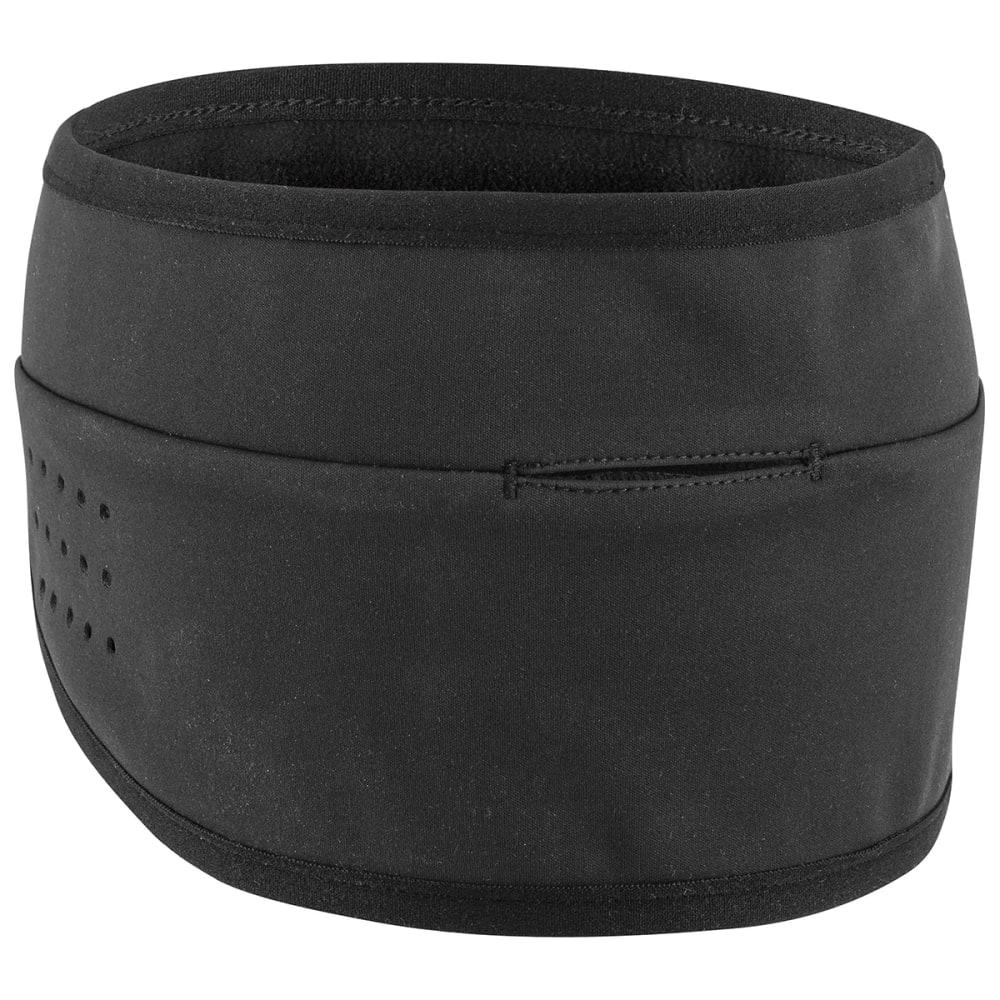 LOUIS GARNEAU Men's Wind Headband - BLACK