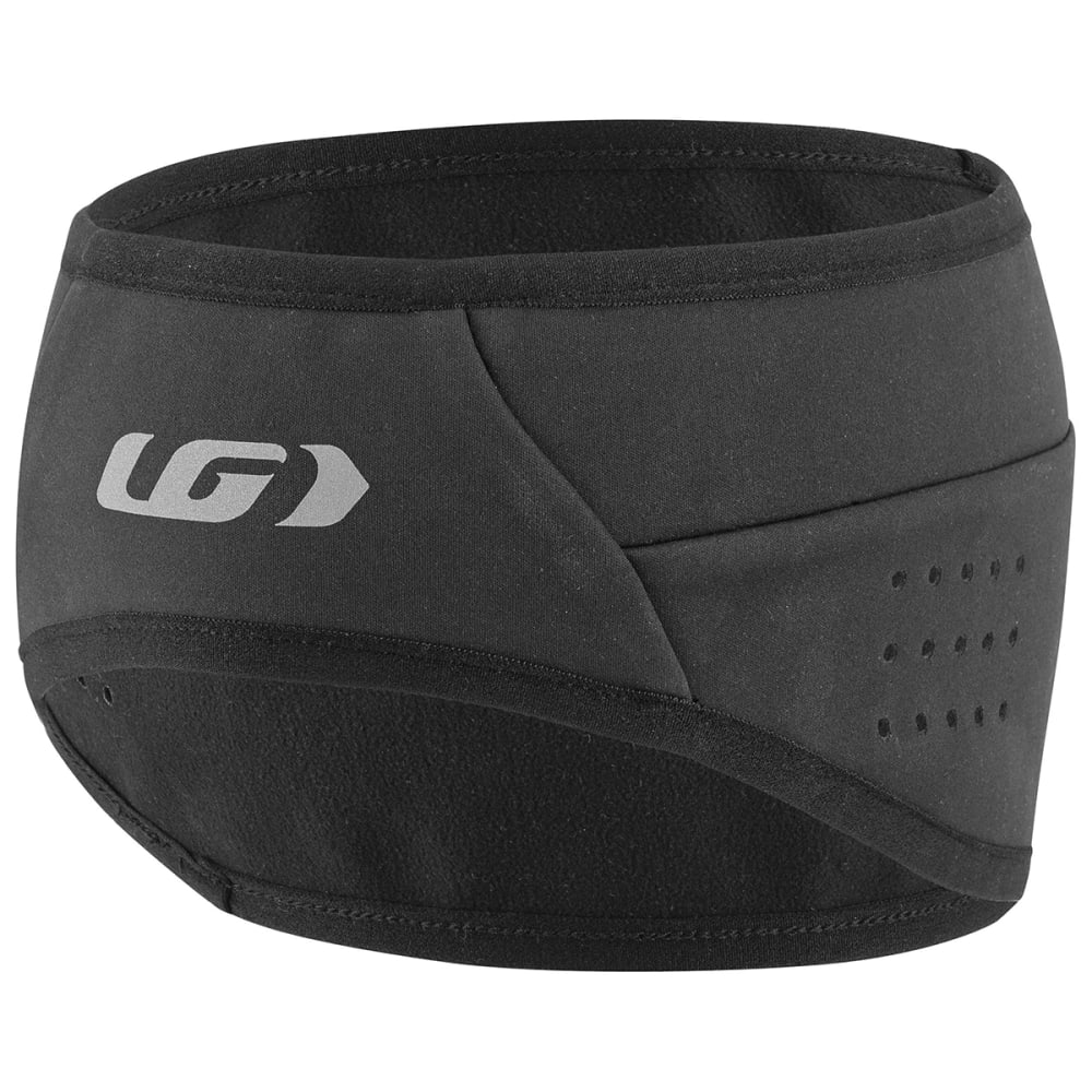 LOUIS GARNEAU Men's Wind Headband - BLACK