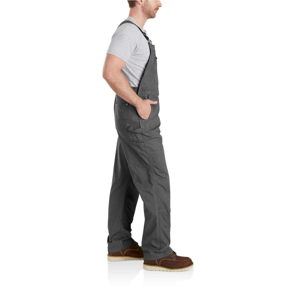CARHARTT Men's Rugged Flex Rigby Bib Overalls - GRAVEL 039
