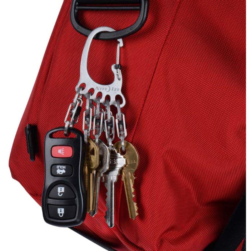 NITE IZE Big Foot Locker KeyRack - STAINLESS