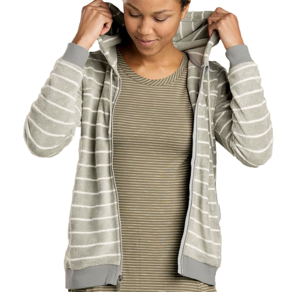 TOAD & CO. Women's Cashmoore Jacket - LIGHT ASH STRIPE-074