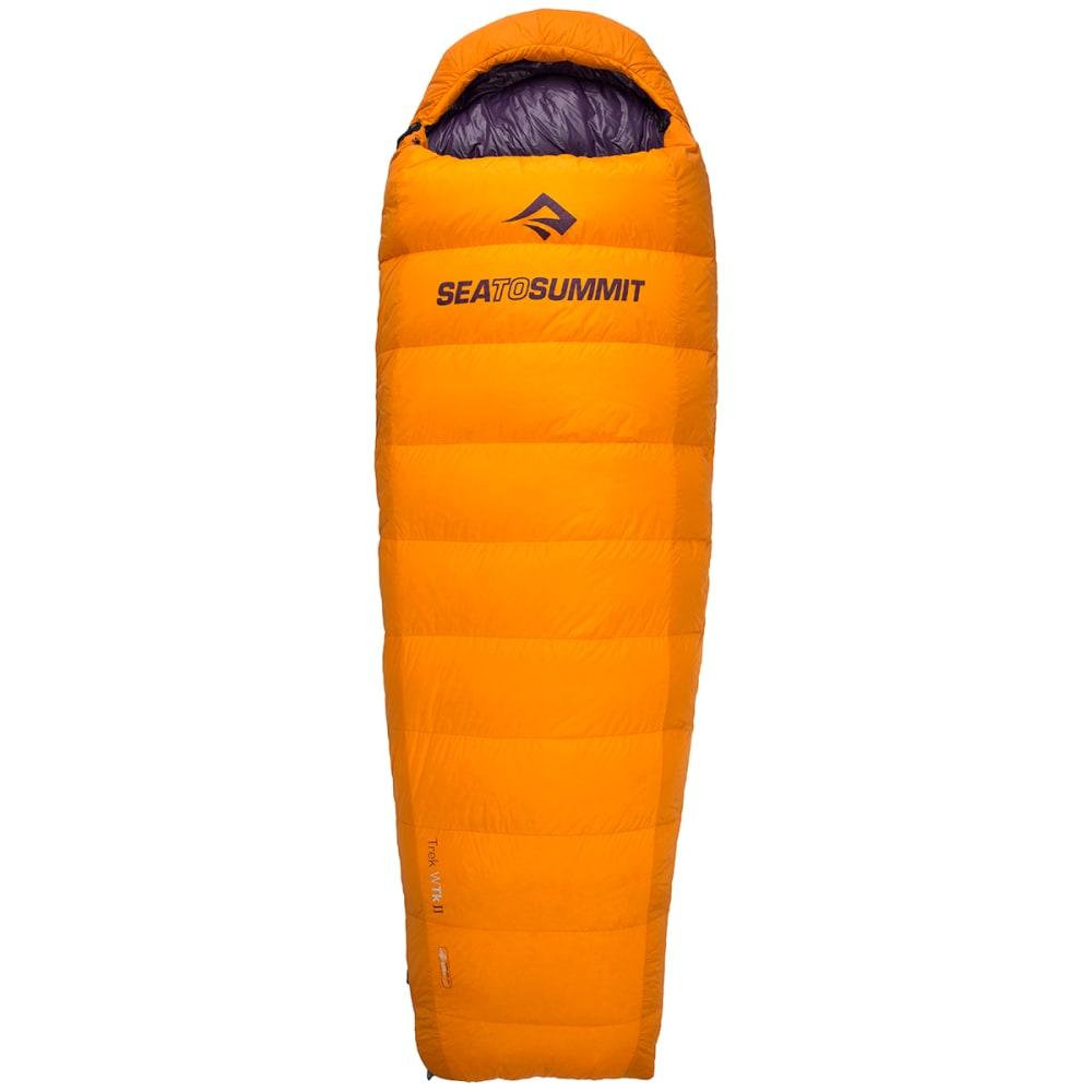 SEA TO SUMMIT Women's Trek TKII 18 Sleeping Bag, Regular - ORANGE