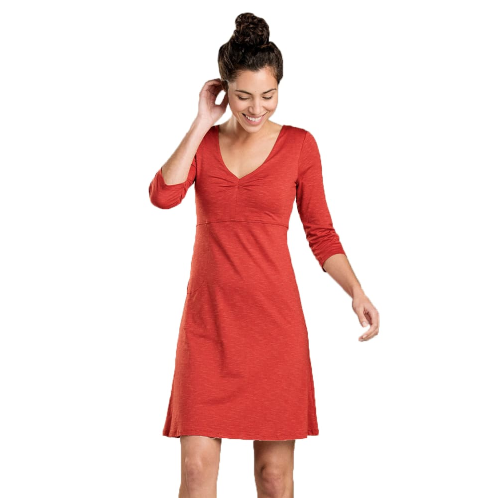 TOAD & CO. Women's Rosalinda Dress - KETCHUP-619