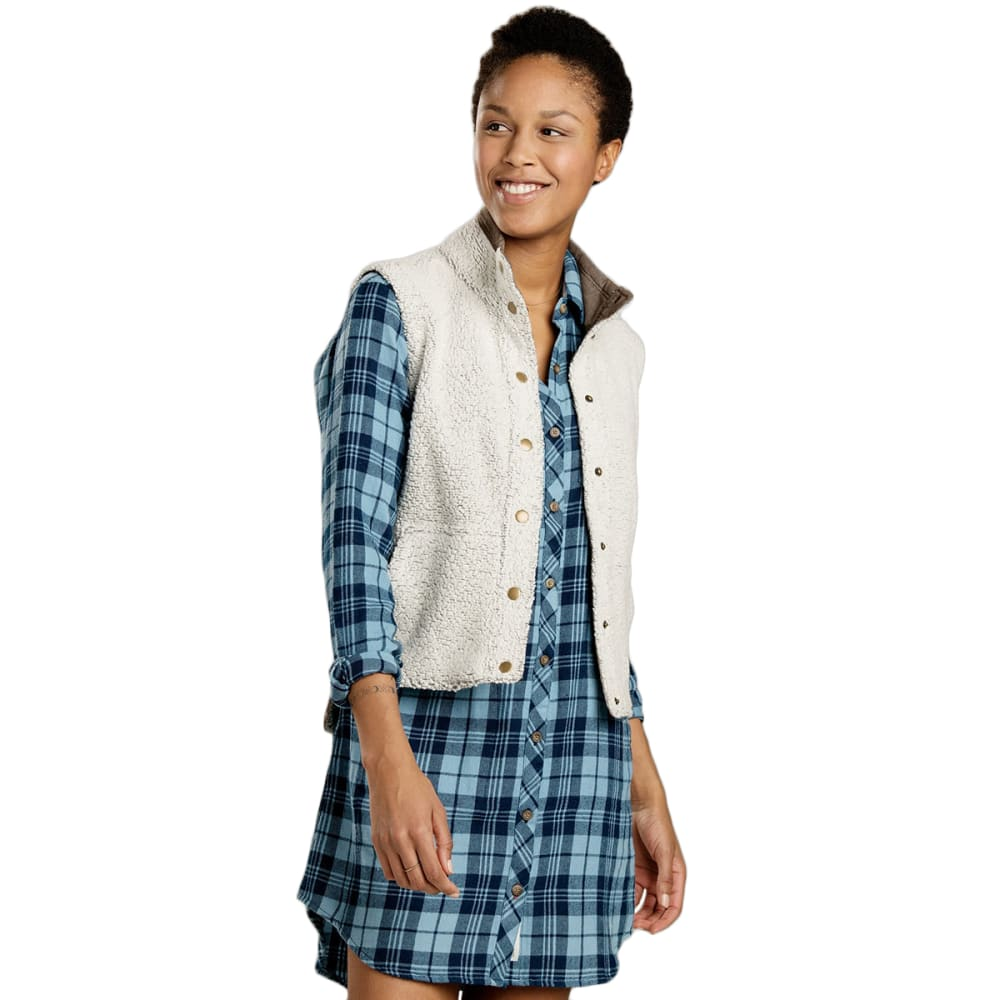 TOAD & CO. Women's Sheridan Sherpa Vest - NATURAL-016
