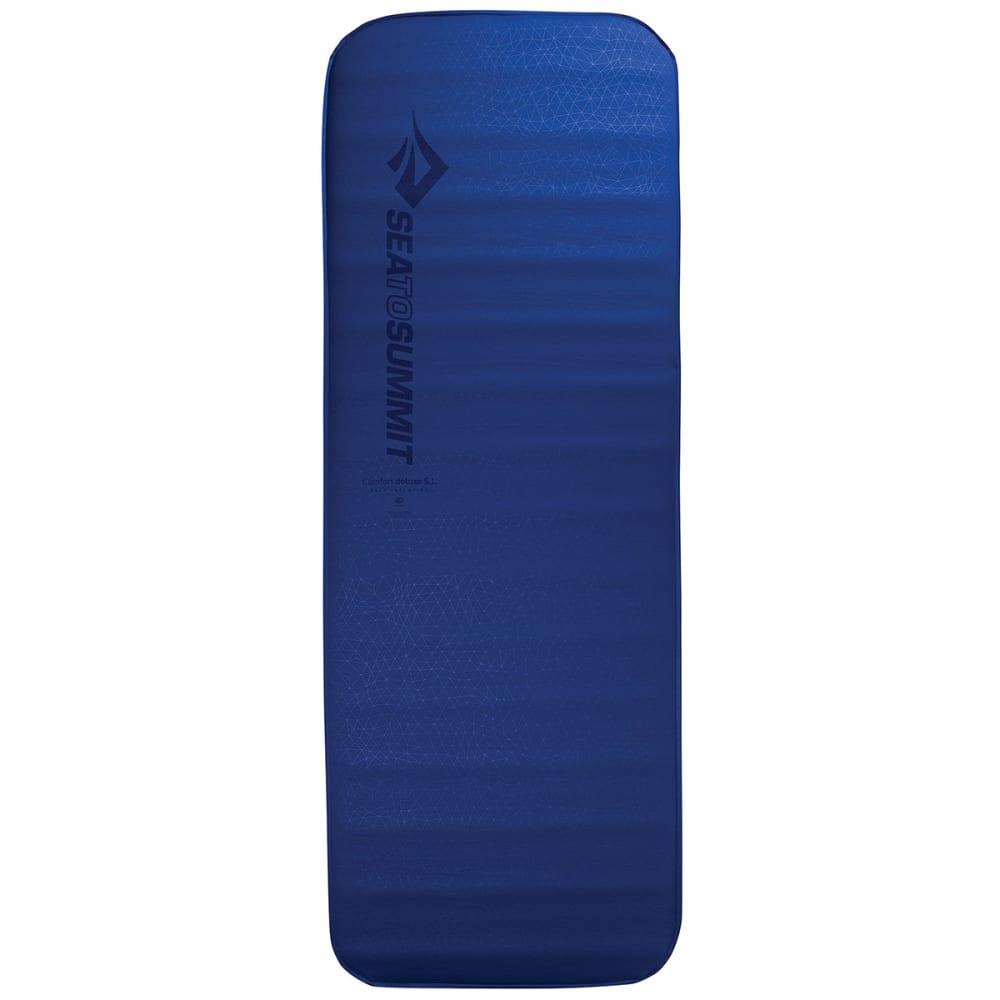 SEA TO SUMMIT Comfort Deluxe SI Sleeping Mat, Regular Wide - BLUE