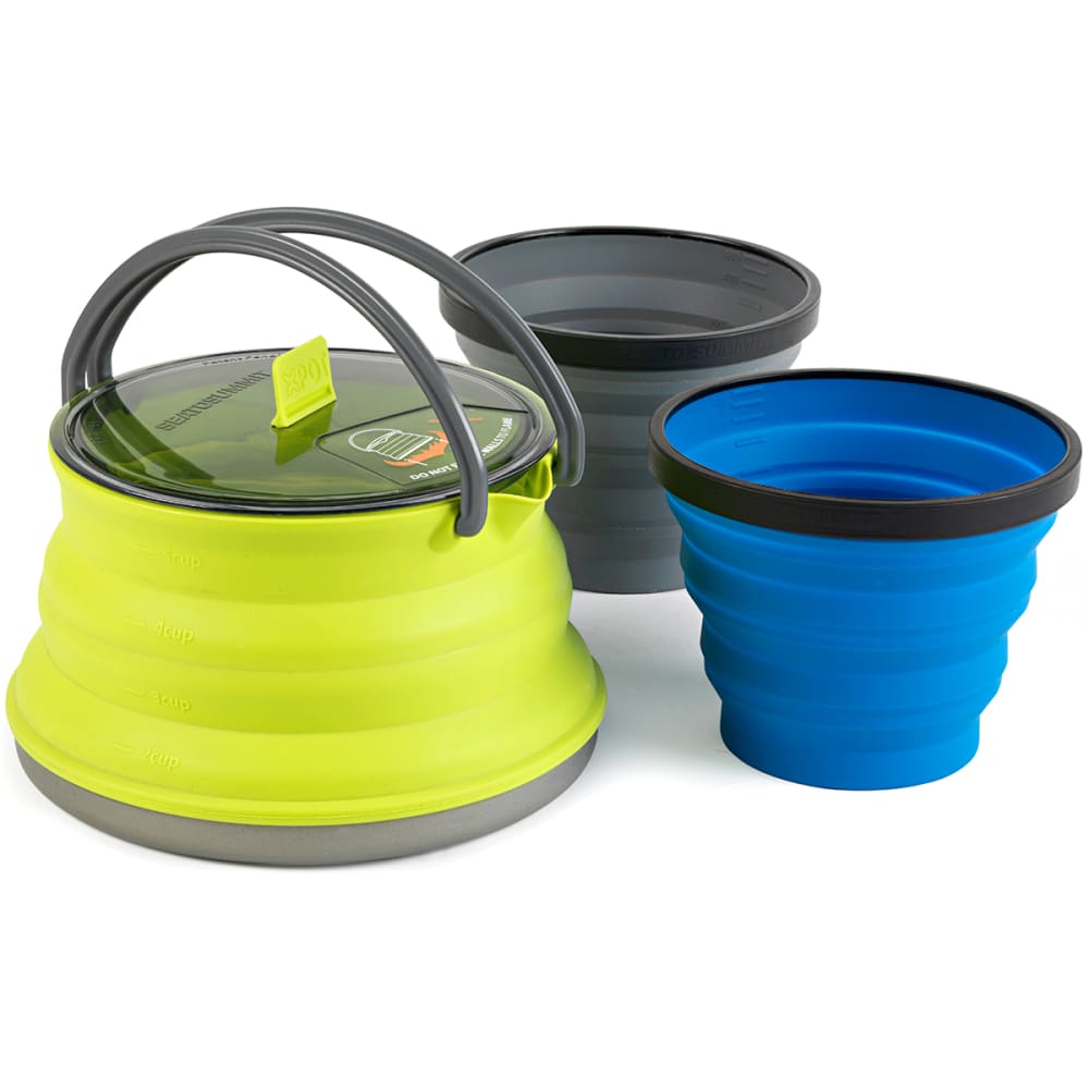 SEA TO SUMMIT X-Set 11 Cookware Set - LIME