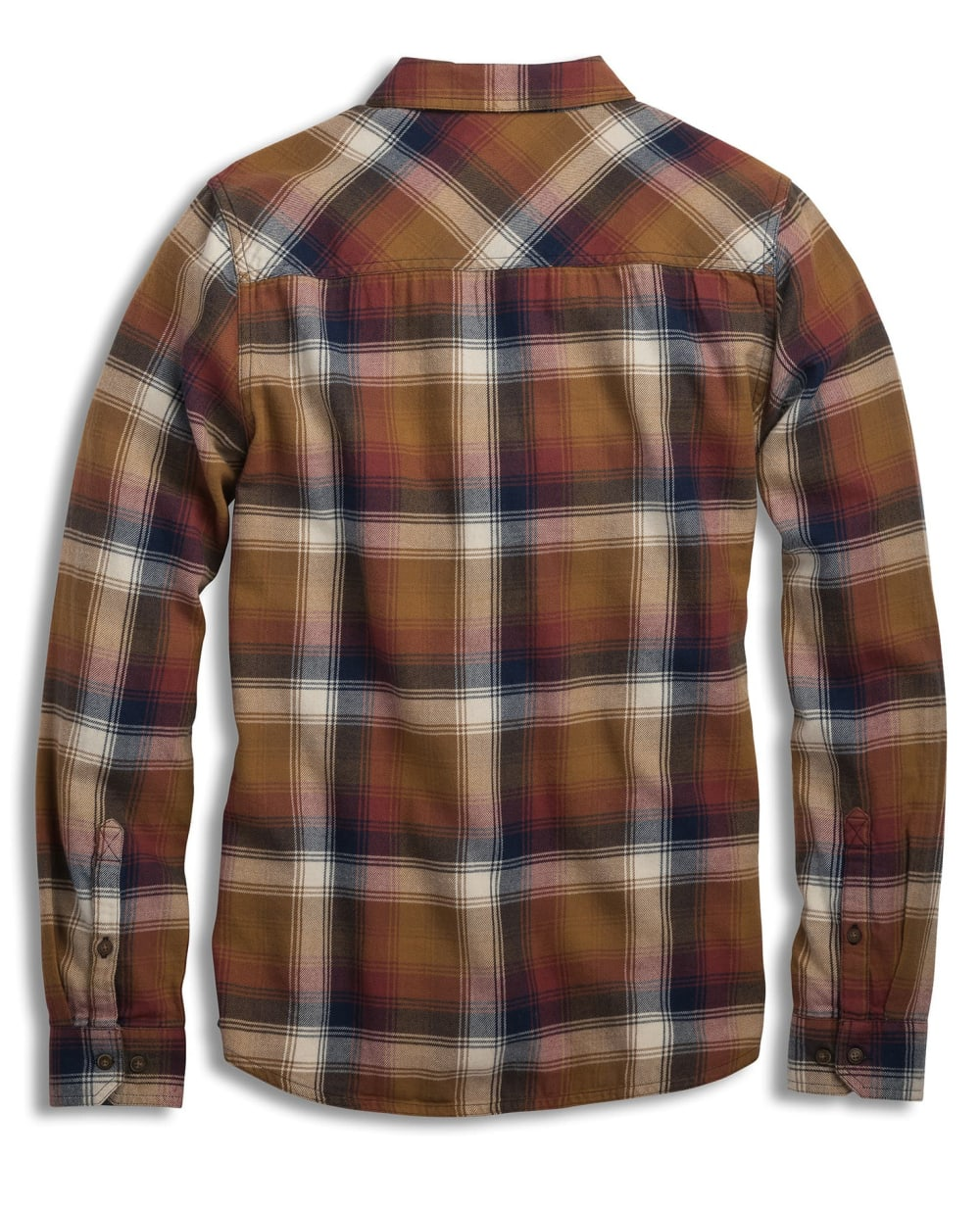 TOAD & CO. Men's Indigo Flannel Slim Long-Sleeve Shirt - DIJON-246