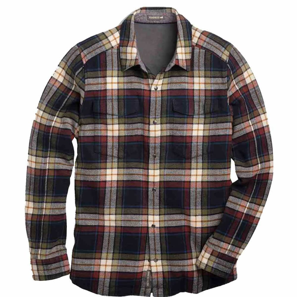 TOAD & CO. Men's Mojac Long-Sleeve Overshirt - NIGHTSKY-447
