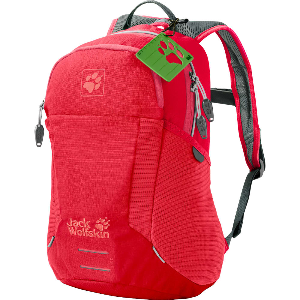 JACK WOLFSKIN Kids' Moab Jam Backpack - TULIP RED