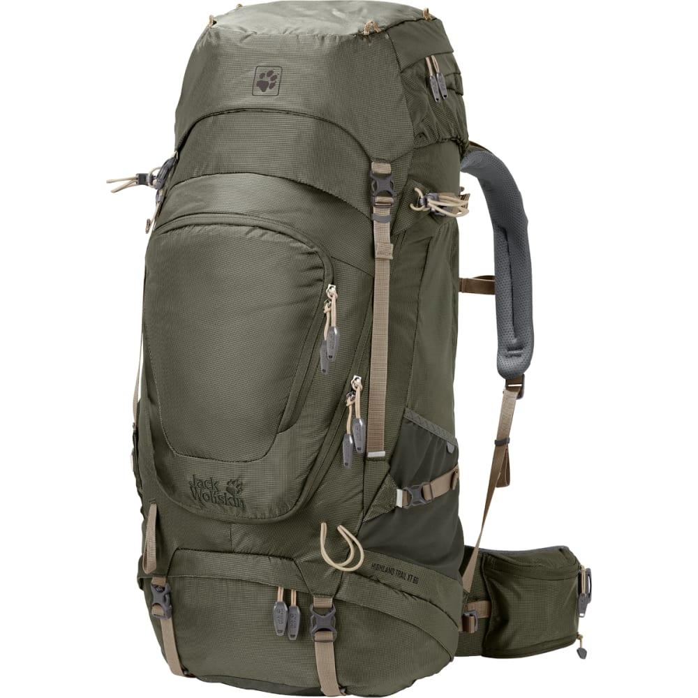 JACK WOLFSKIN Highland Trail XT 60 Hiking Backpack - WOODLAND GREEN