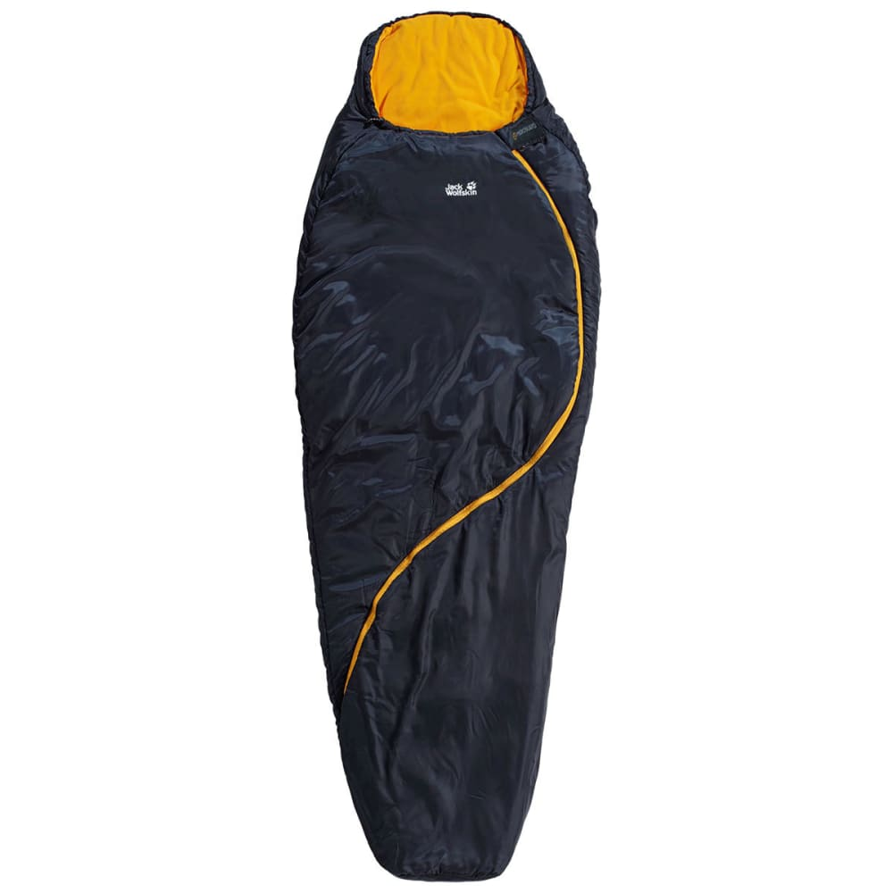 JACK WOLFSKIN Women's Smoozip 23F Sleeping Bag, Regular - NIGHT BLUE