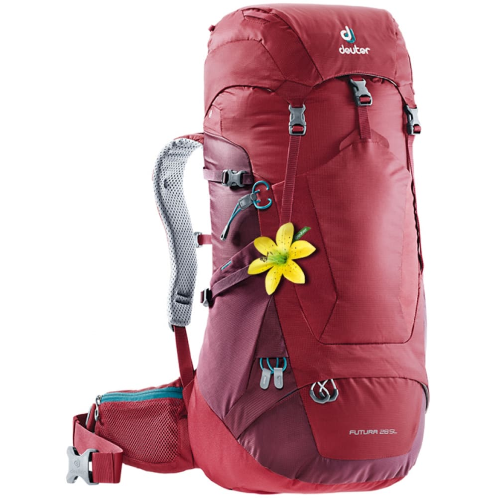DEUTER Women's Futura 28 SL Backpack - CRANBERRY/MAROON