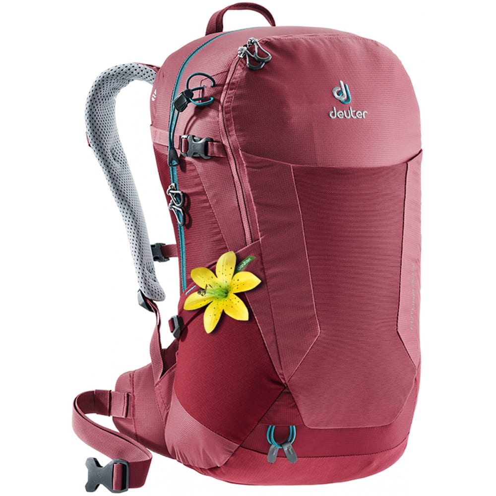 DEUTER Women's Futura 22 SL Backpack - CARDINAL/CRANBERRY
